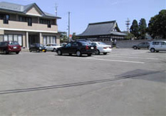 きりたんぽ 北秋クラブ駐車場